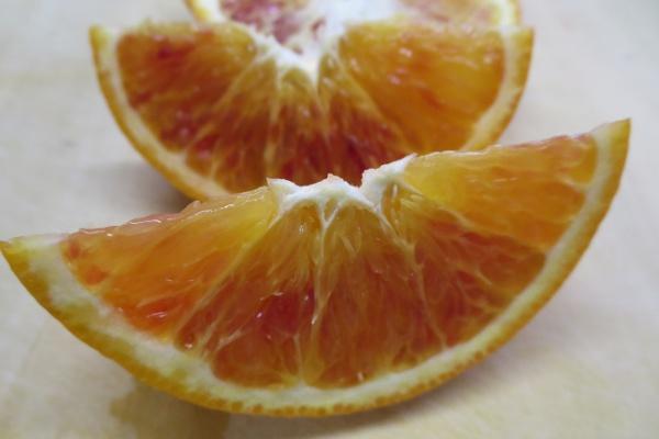 ブラッドオレンジスマイルカット