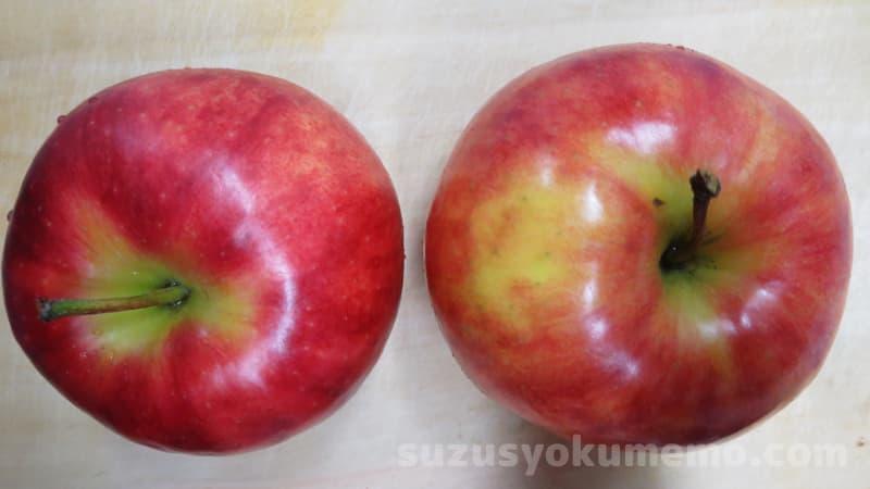 りんごのベタベタ